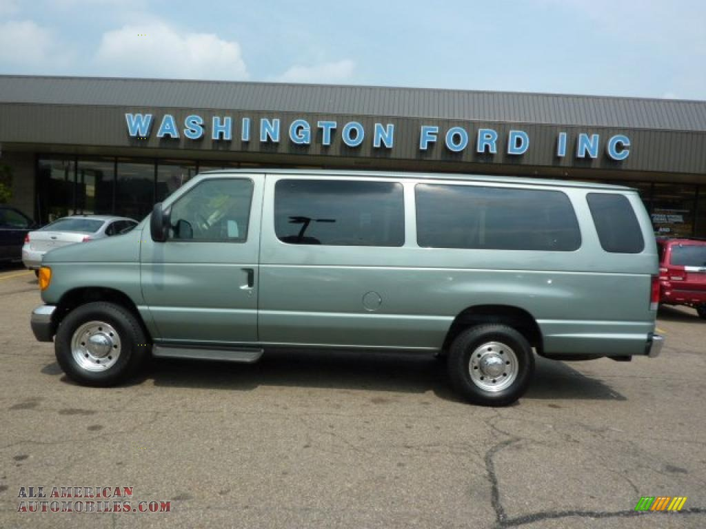 2006 ford e series van e350 xlt 15 passenger in light tundra metallic a00029 all american. Black Bedroom Furniture Sets. Home Design Ideas