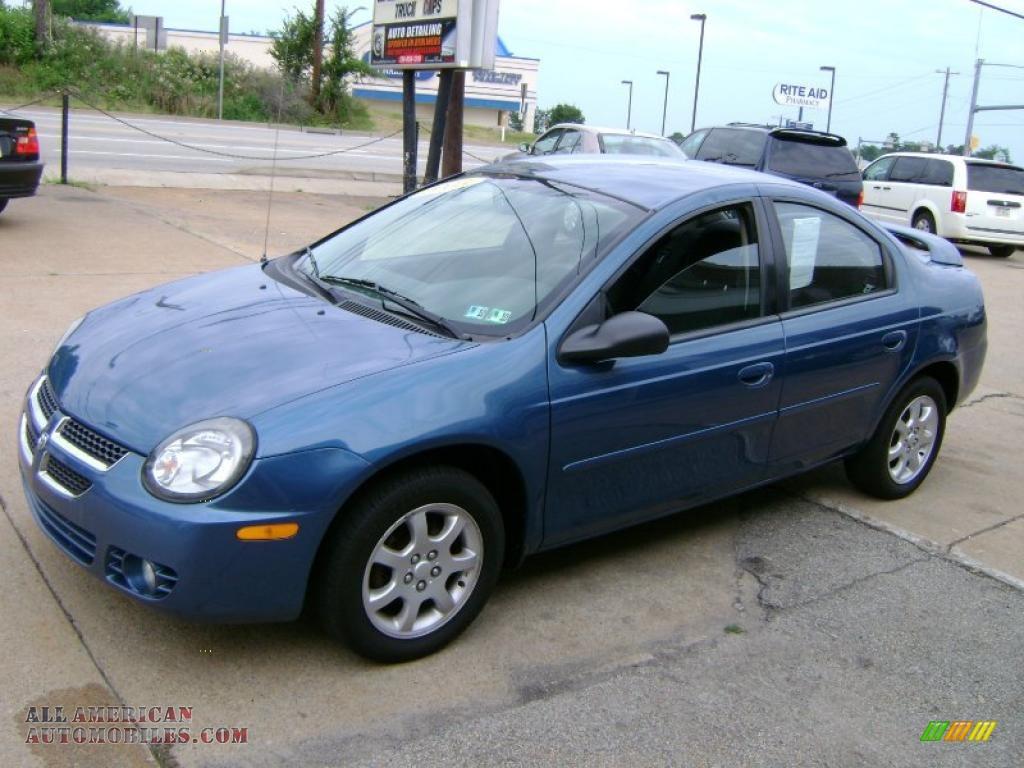 2003 Dodge Neon Sxt In Atlantic Blue Pearl 257220 All