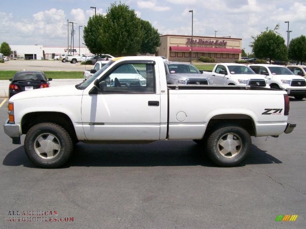 1994 Chevrolet C/K K1500 Z71 Regular Cab 4x4 in White ...