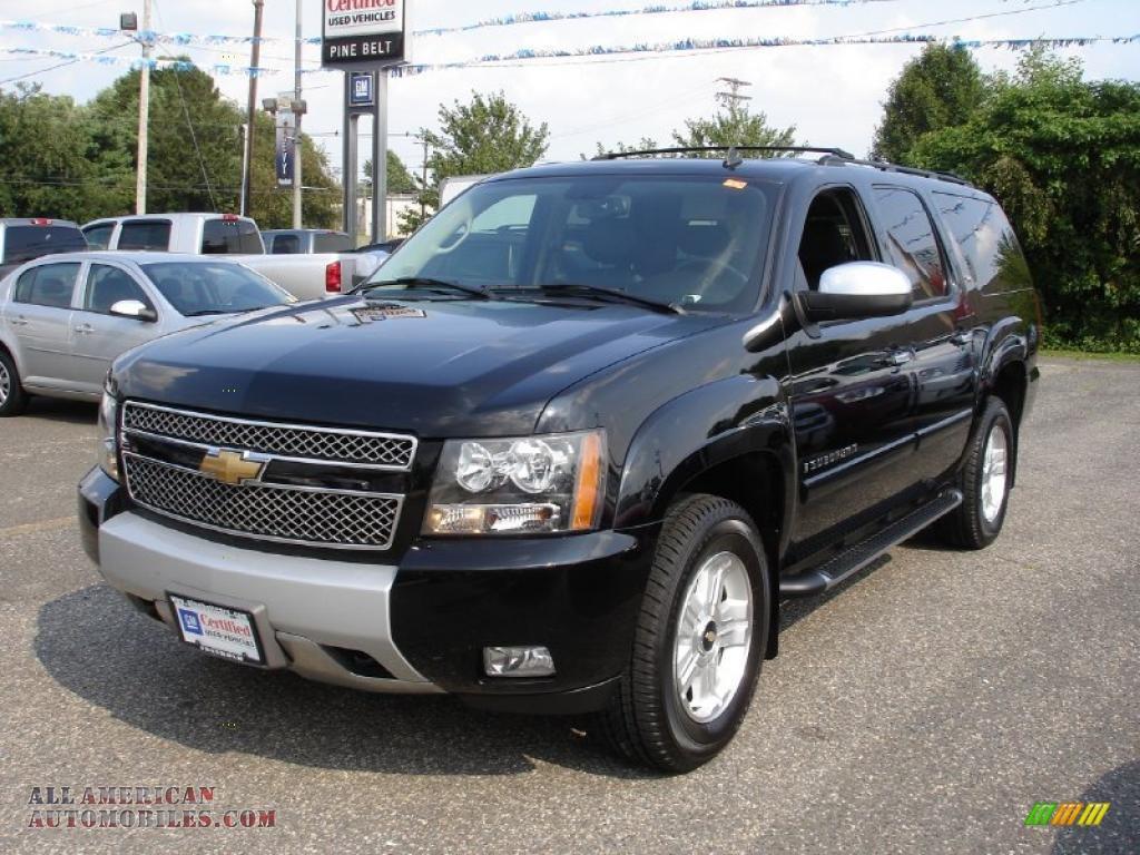 2007 chevrolet suburban 1500 z71 4x4 in black 258985 all american automobiles buy american. Black Bedroom Furniture Sets. Home Design Ideas