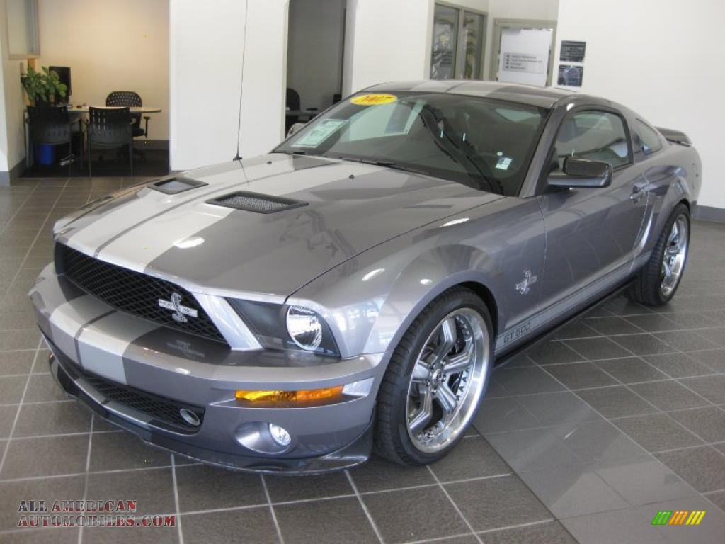 2007 Ford Mustang V6 Deluxe >> 2007 Ford Mustang Shelby GT500 Coupe in Tungsten Grey Metallic photo #9 - 290198 | All American ...