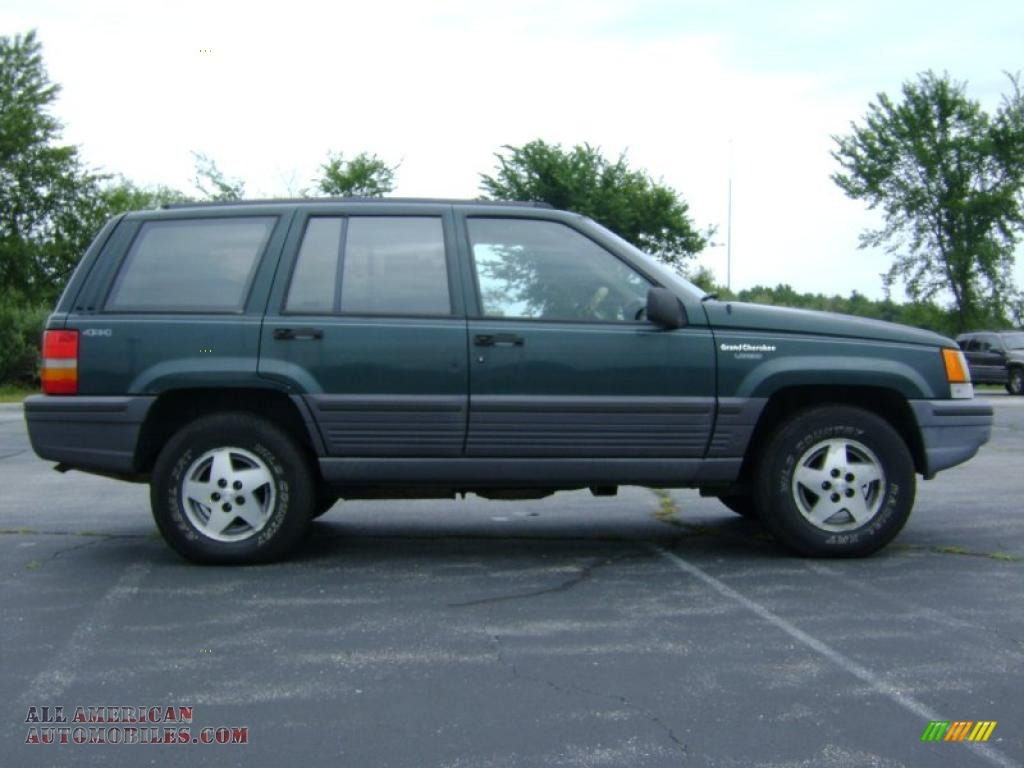 1993 jeep grand cherokee laredo 4x4 in hunter green metallic photo 8 594822 all american 1993 jeep grand cherokee interior