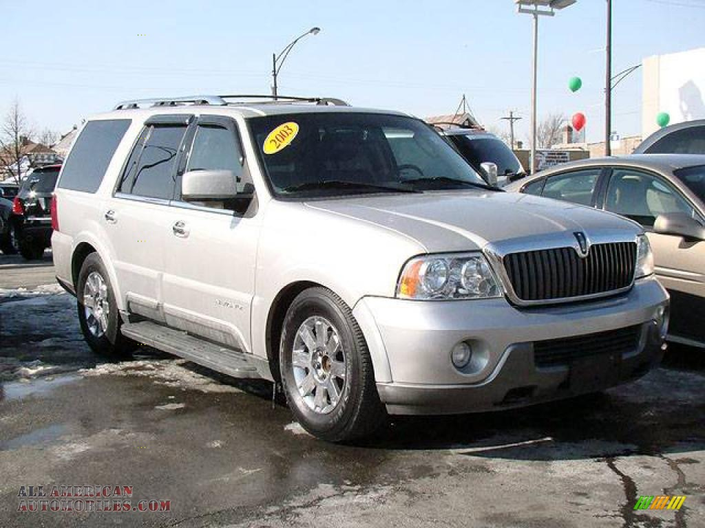 2003 lincoln navigator luxury 4x4 in silver birch metallic. Black Bedroom Furniture Sets. Home Design Ideas