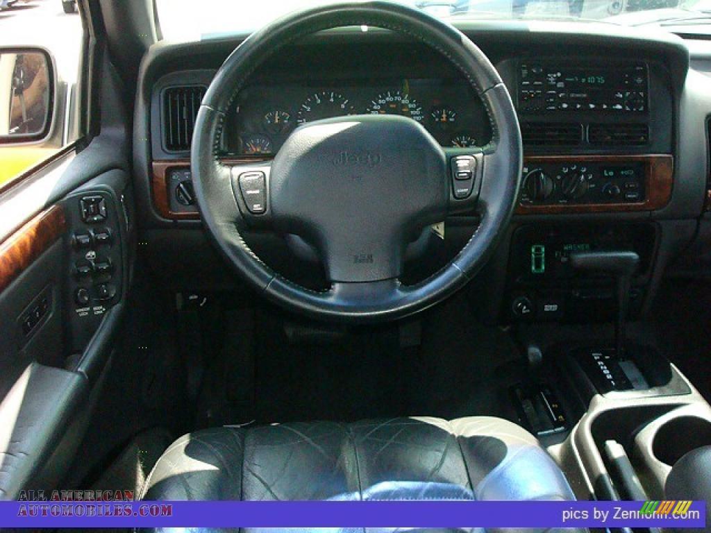 1997 jeep grand cherokee orvis 4x4 in light driftwood - 1997 jeep grand cherokee interior ...