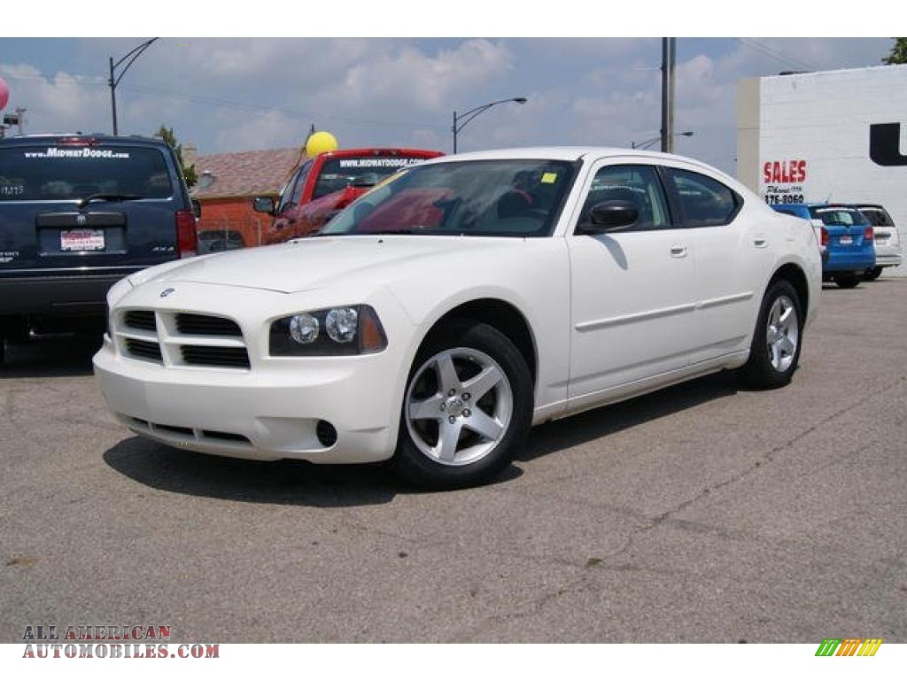 2009 Dodge Charger SE in Stone White  616068  All American
