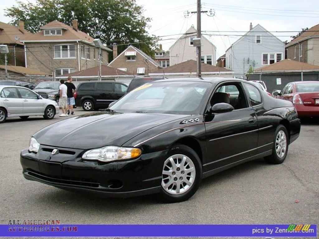 2003 chevrolet monte carlo ls in black 147925 all american automobiles buy american cars
