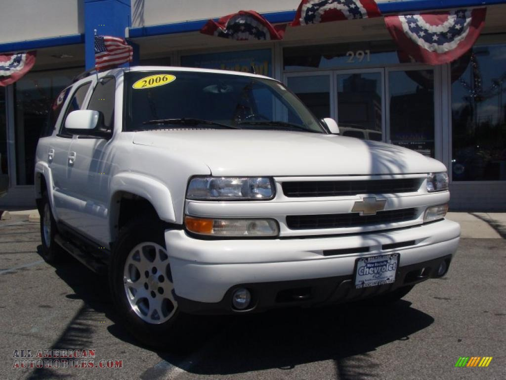 2006 chevrolet tahoe z71 in summit white 120870 all. Black Bedroom Furniture Sets. Home Design Ideas