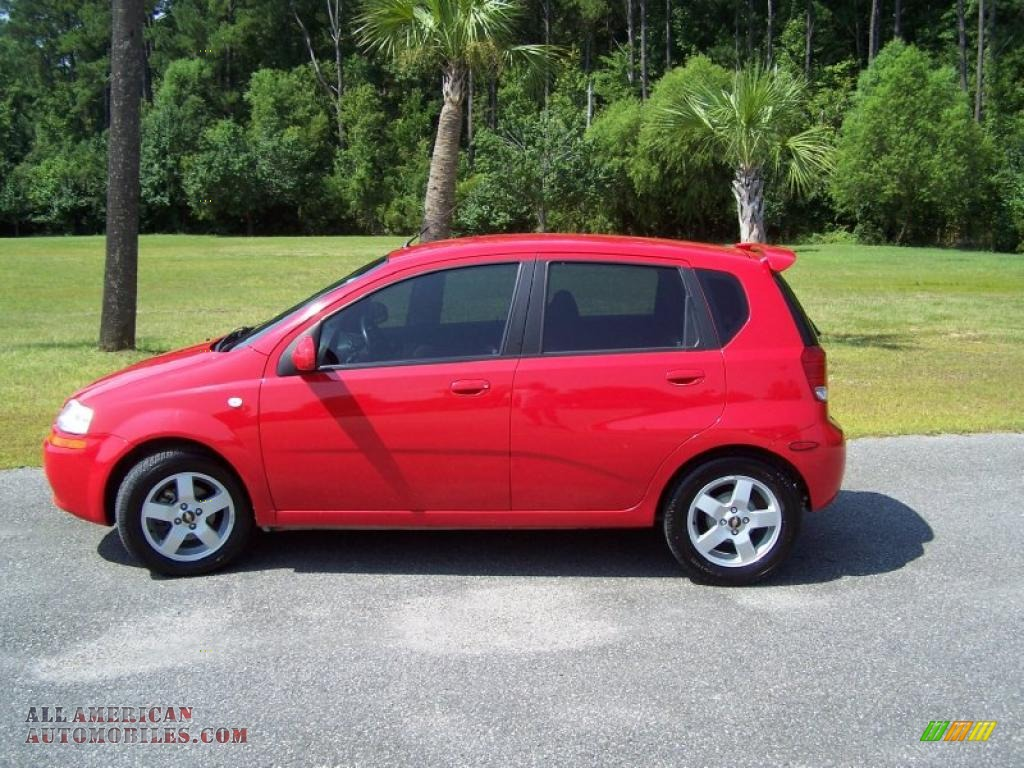 Chevrolet chevrolet 2006 aveo : 2006 Chevrolet Aveo LT Hatchback in Victory Red photo #8 - 567338 ...