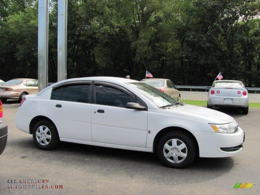 2003 Saturn Ion 1 Sedan In White Photo 5 178545 All