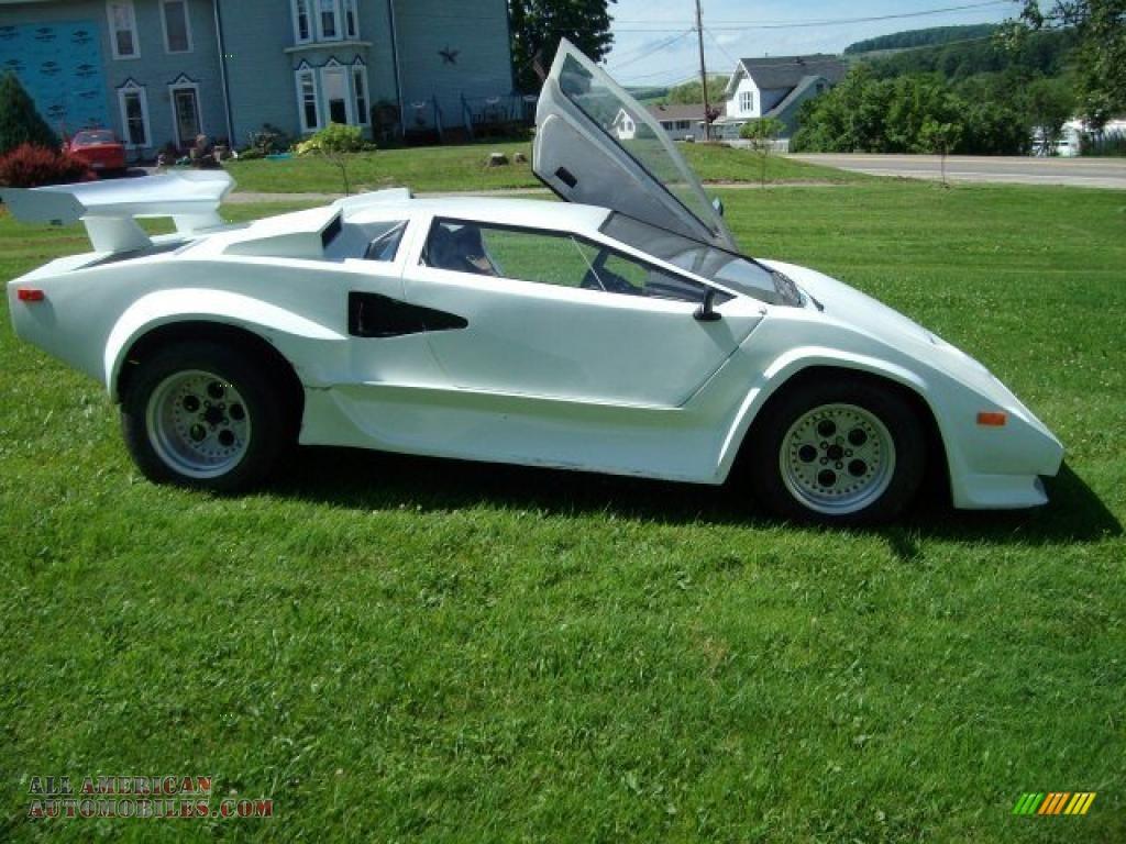 1985 Pontiac Fiero Lamborghini Kit Car in White - 245308 | All ...