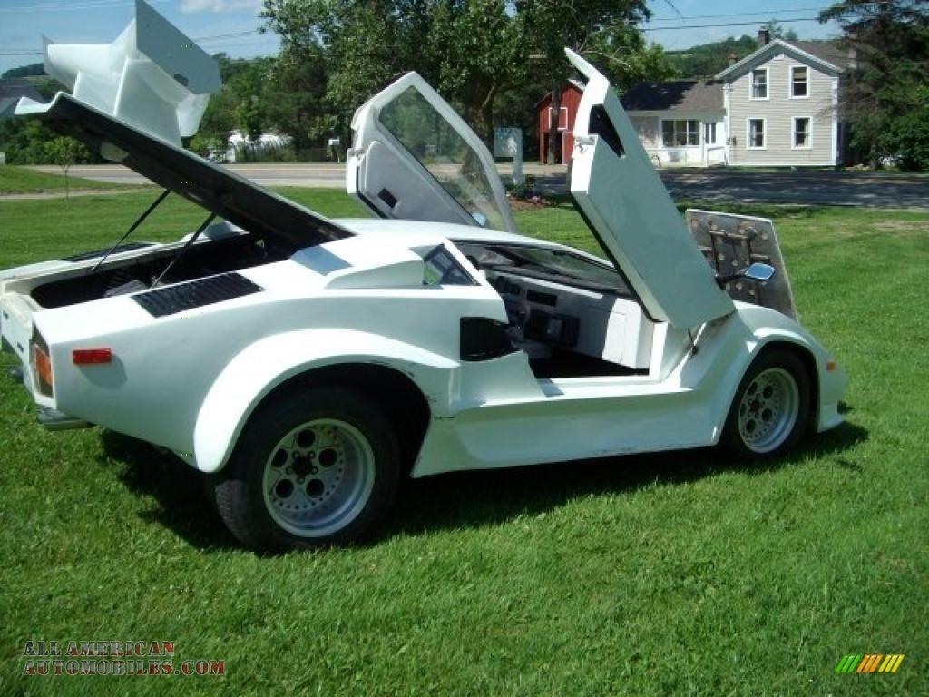 1985 Pontiac Fiero Lamborghini Kit Car in White photo #2 - 245308 ...