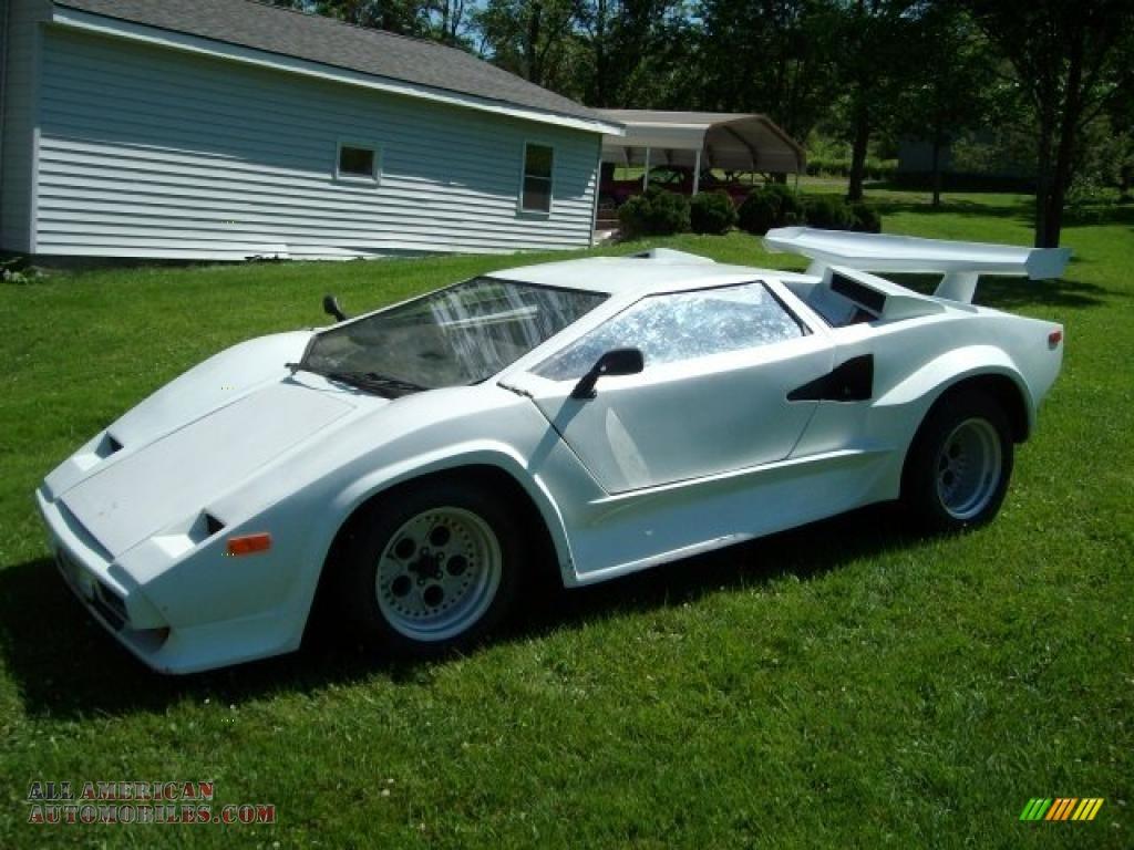 1985 Pontiac Fiero Lamborghini Kit Car In White Photo 4