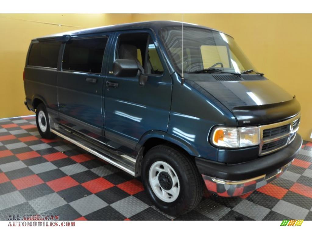 1997 Dodge Ram Van 2500 SLT Passenger in Medium Blue Metallic - 572648 ...