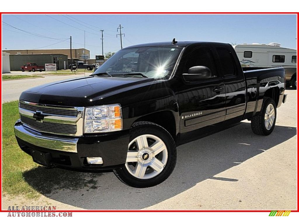 2007 chevrolet silverado 1500 lt extended cab texas edition in black photo 27 656042 all. Black Bedroom Furniture Sets. Home Design Ideas