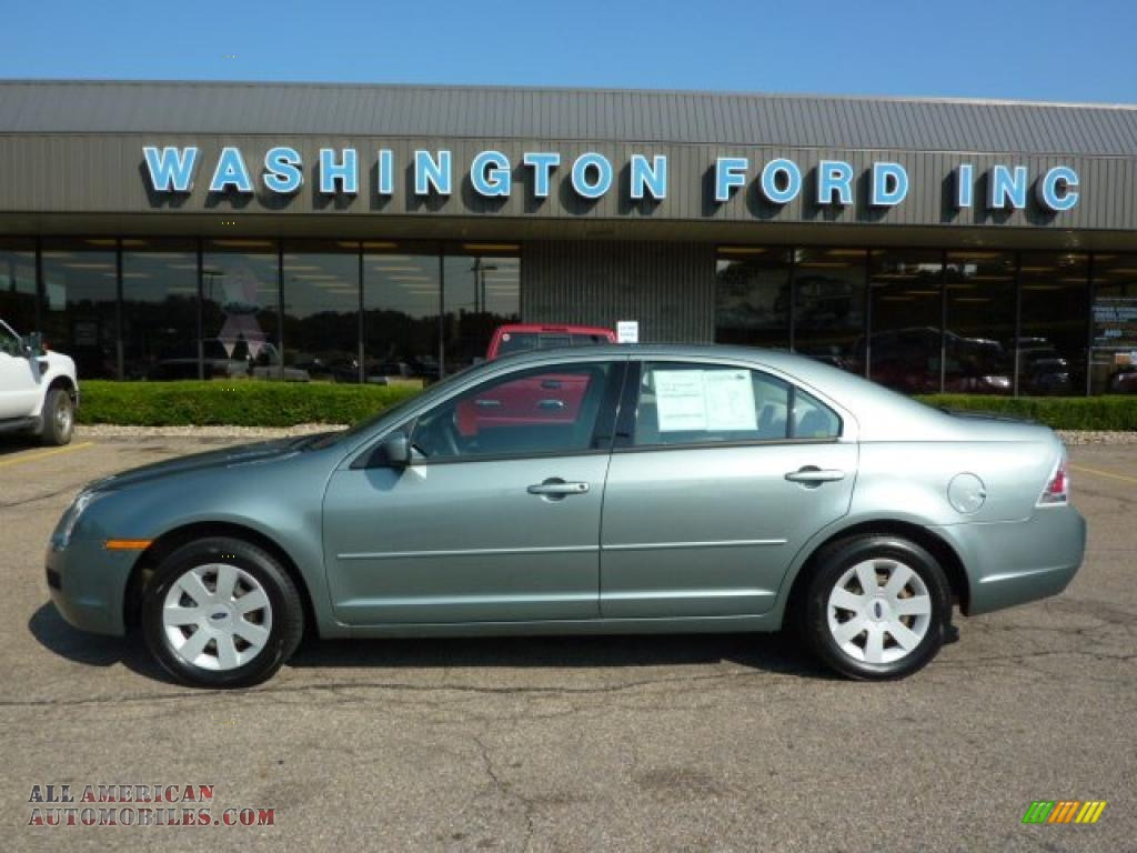 2006 ford fusion se v6 in titanium green metallic 246344 all american automobiles buy. Black Bedroom Furniture Sets. Home Design Ideas