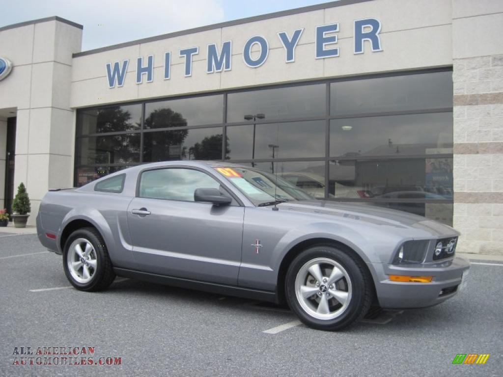 East Side Auto >> 2007 Ford Mustang V6 Premium Coupe in Tungsten Grey ...