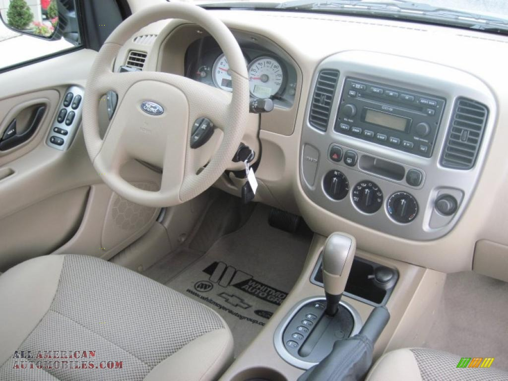2005 Ford Escape XLT V6 4WD in Gold Ash Metallic photo #6 ...
