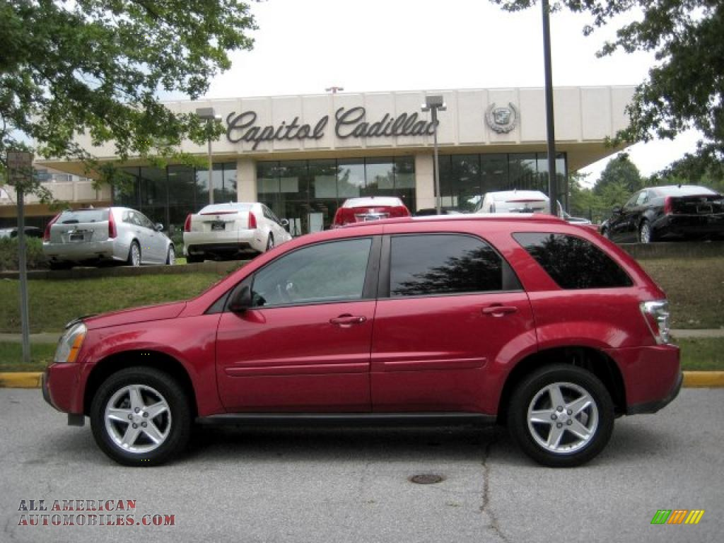 2005 Chevrolet Equinox LT AWD in Salsa Red Metallic - 123902 | All American Automobiles - Buy ...