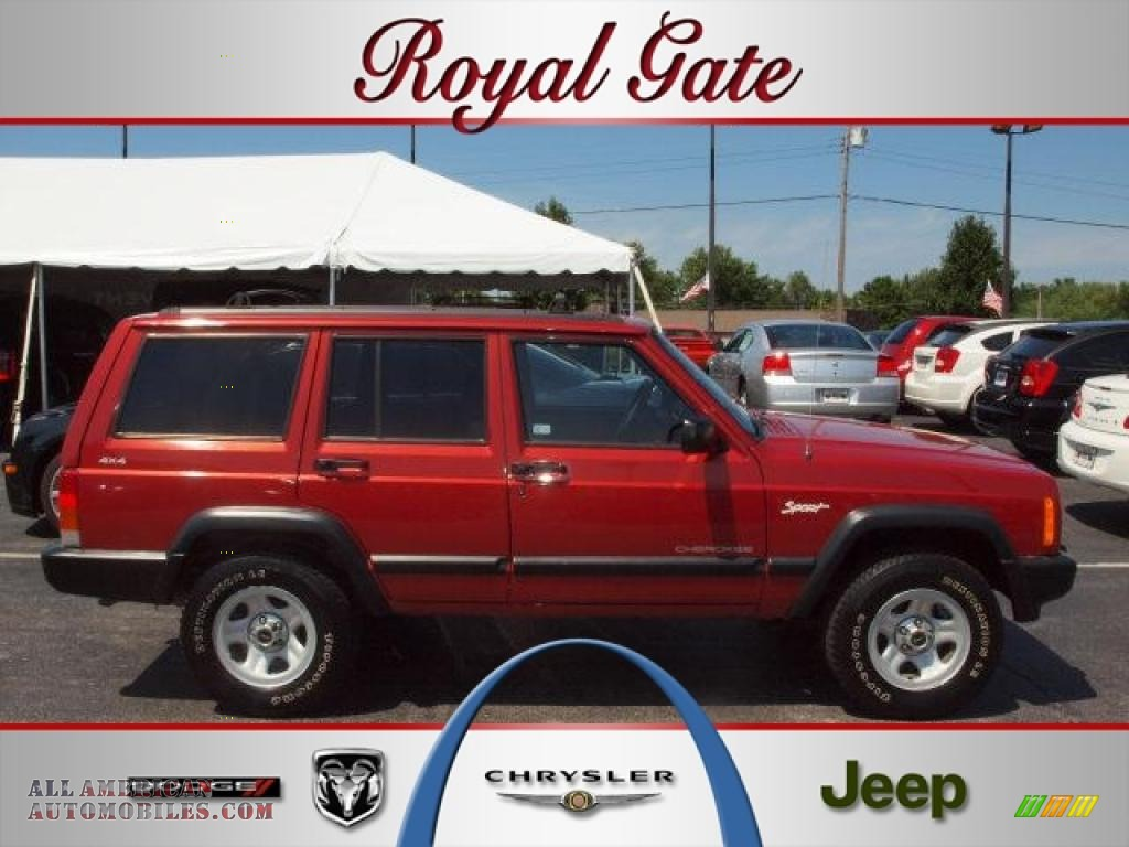 1998 jeep cherokee sport 4x4 in chili pepper red pearl photo 3. Cars Review. Best American Auto & Cars Review