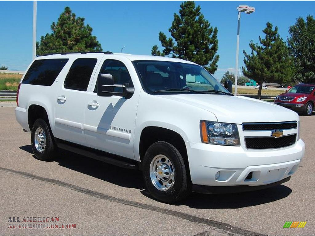2007 chevrolet suburban 2500 lt 4x4 in summit white photo 19 157414 all american. Black Bedroom Furniture Sets. Home Design Ideas