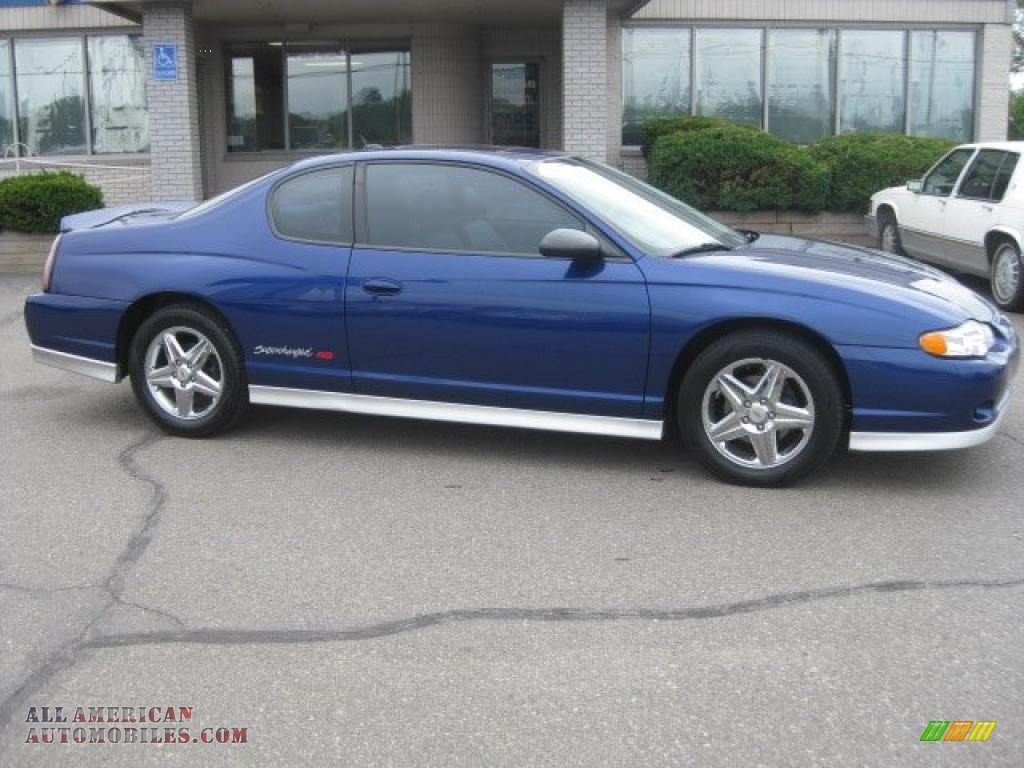 2005 chevrolet monte carlo supercharged ss in laser blue metallic 267612 all american. Black Bedroom Furniture Sets. Home Design Ideas