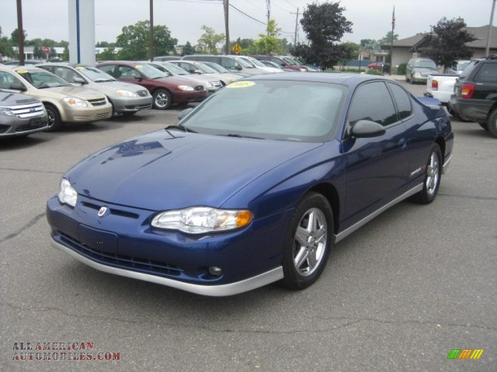 2005 chevrolet monte carlo supercharged ss in laser blue. Black Bedroom Furniture Sets. Home Design Ideas
