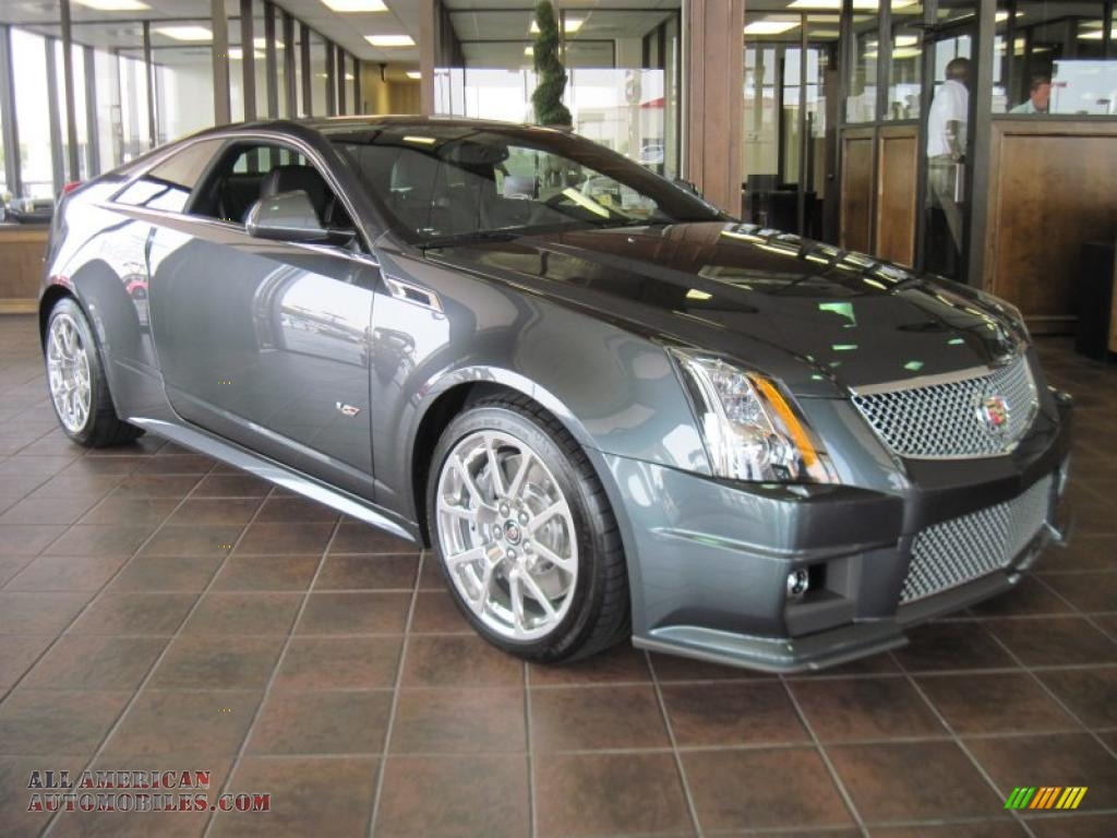 2011 Cadillac Cts V Coupe In Thunder Gray Chromaflair