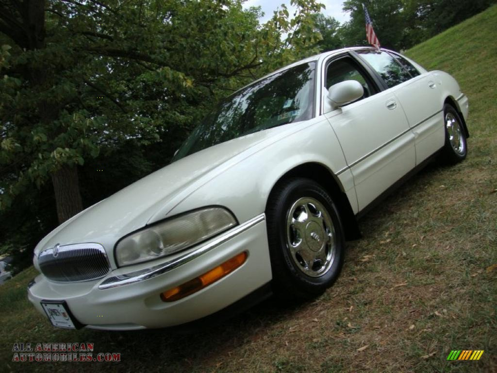 Bright White Diamond / Medium Gray Buick Park Avenue Ultra Supercharged