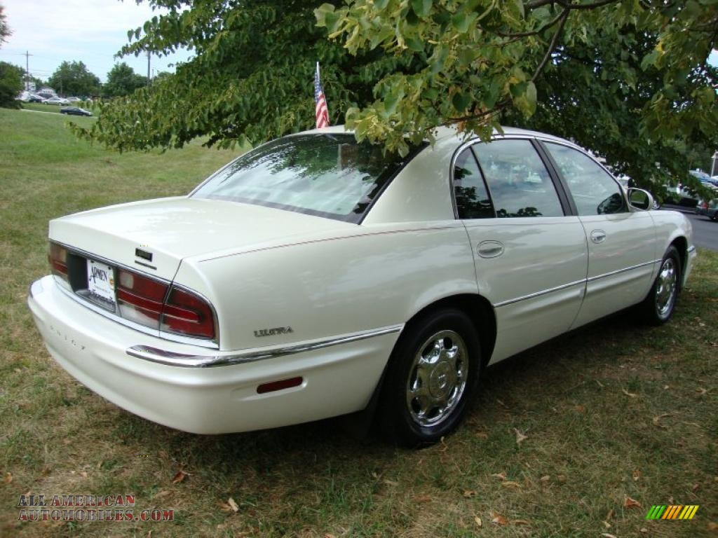 1999 buick park avenue ultra supercharged in bright white. Black Bedroom Furniture Sets. Home Design Ideas