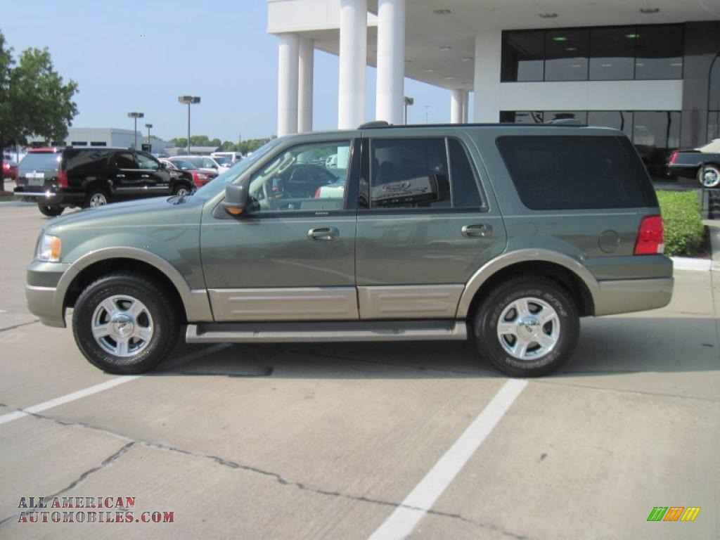 2004 Ford Expedition Eddie Bauer In Estate Green Metallic Photo 3 A78842 All American