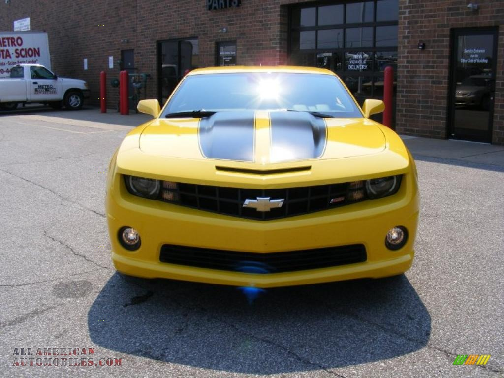 2010 chevrolet camaro ss coupe transformers special edition in rally yellow photo 8 165383. Black Bedroom Furniture Sets. Home Design Ideas