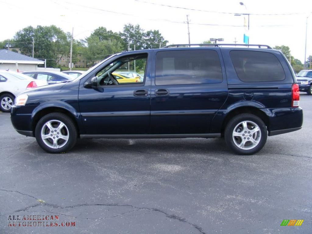 2007 Chevrolet Uplander Ls In Dark Blue Metallic Photo 2