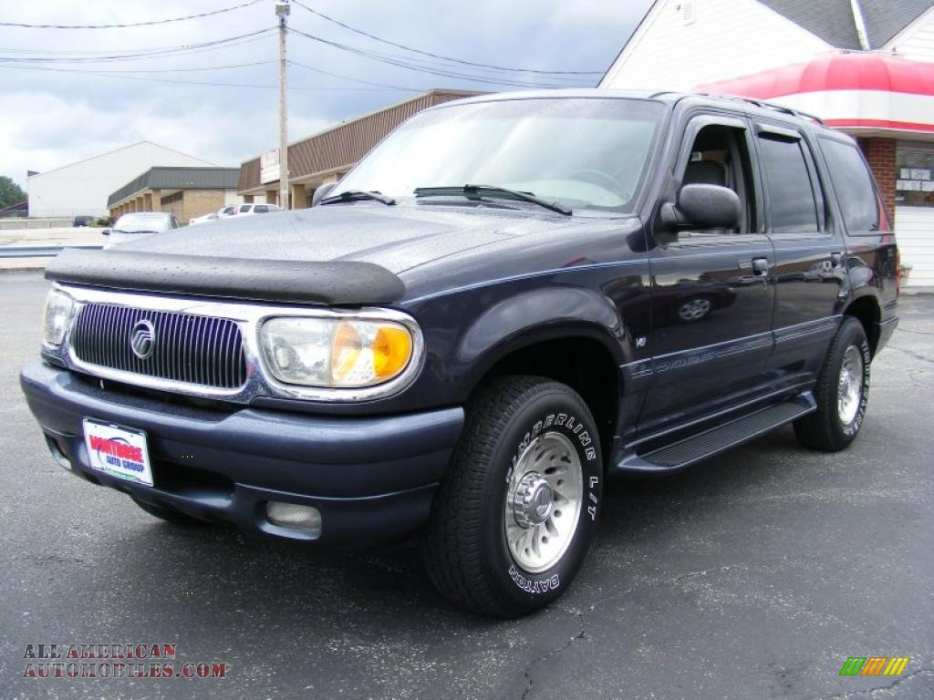 American Auto Brokers >> 2000 Mercury Mountaineer V8 AWD in Deep Wedgewood Blue Metallic - J37012 | All American ...