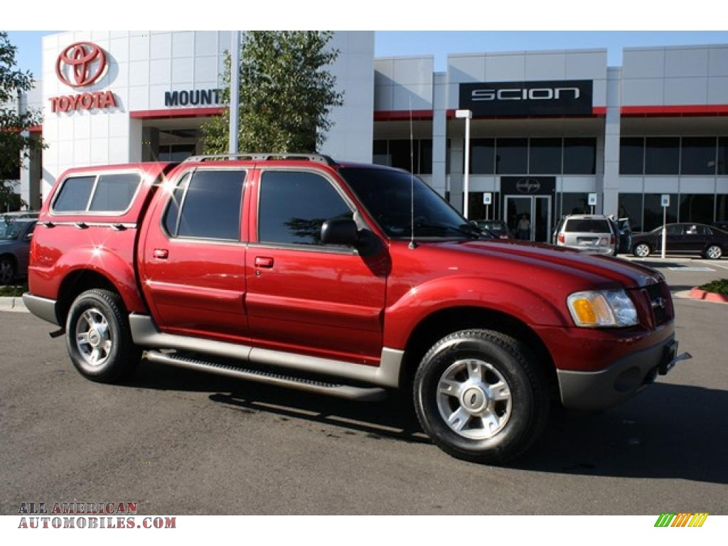 Redfire metallic medium pebble ford explorer sport trac xlt 4x4