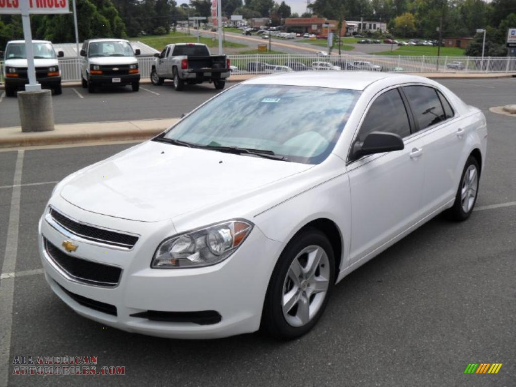2010 chevrolet malibu ls sedan in summit white 313887. Cars Review. Best American Auto & Cars Review