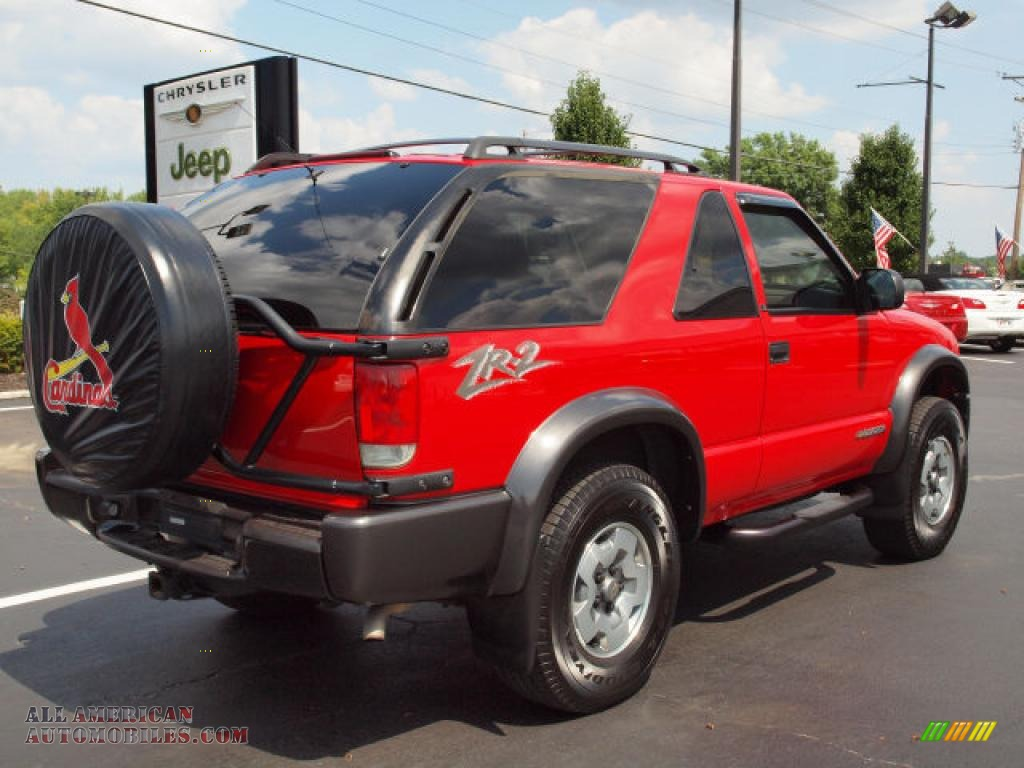2002 Chevrolet Blazer LS ZR2 4x4 in Victory Red photo #3 ...