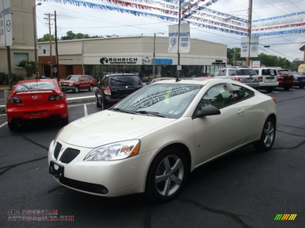 2008 Pontiac G6 GT Coupe in White Diamond Tri Coat photo #6 - 297348 ...