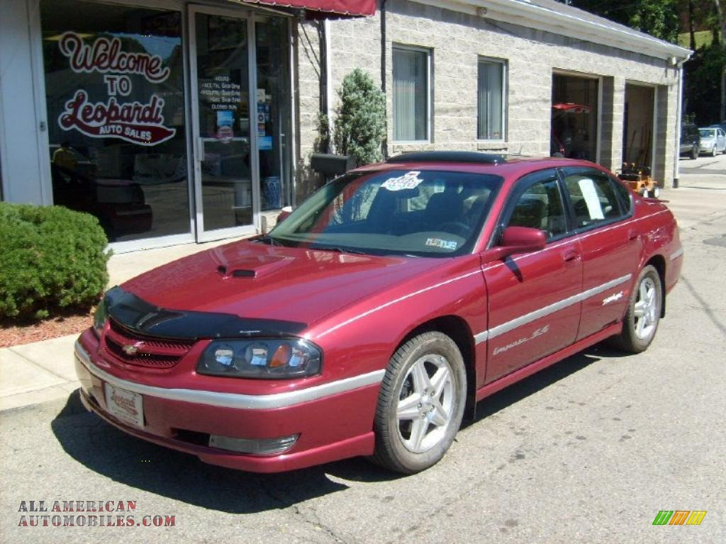 2005 chevrolet impala ss supercharged in sport red metallic 264344 all american automobiles. Black Bedroom Furniture Sets. Home Design Ideas