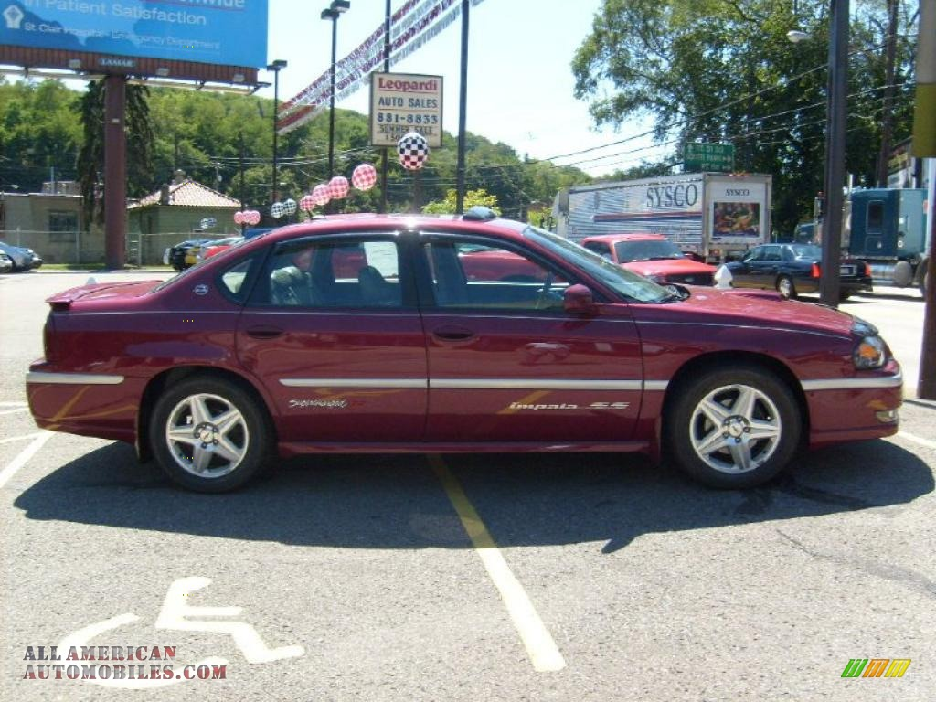 2005 chevrolet impala ss supercharged in sport red metallic photo 8 264344 all american. Black Bedroom Furniture Sets. Home Design Ideas