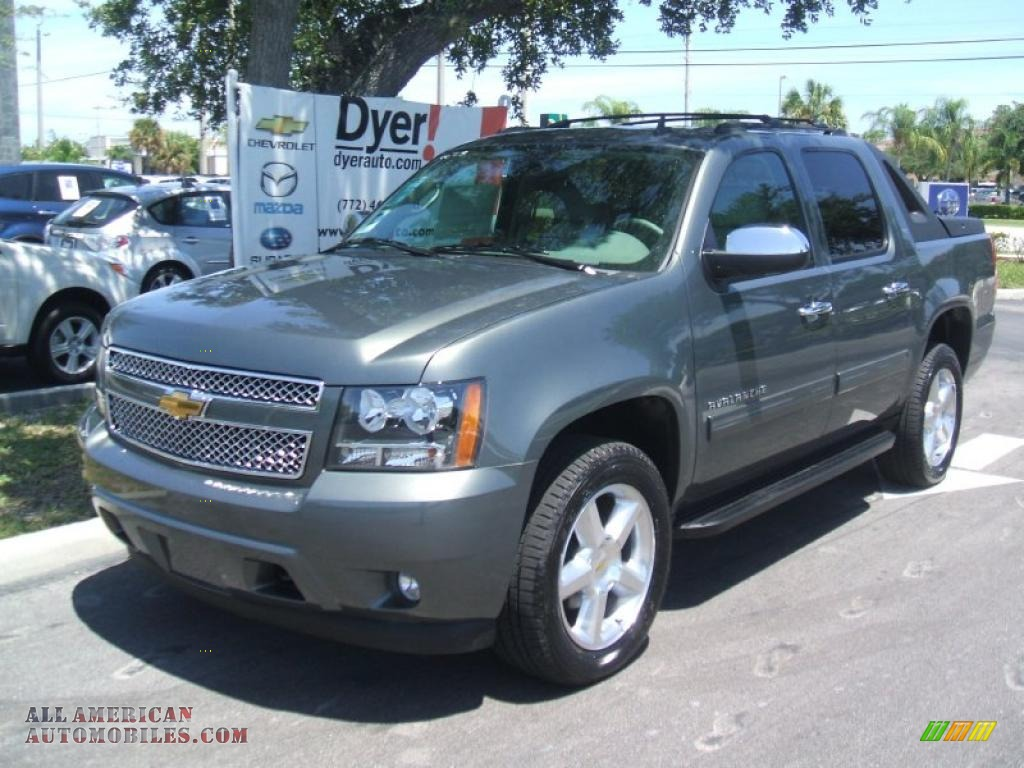 2011 chevrolet avalanche lt 4x4 in steel green metallic 102181 all american automobiles. Black Bedroom Furniture Sets. Home Design Ideas