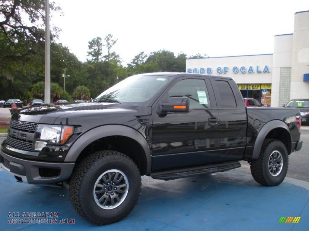 2010 ford f150 svt raptor supercab 4x4 in tuxedo black d09386 all american automobiles buy. Black Bedroom Furniture Sets. Home Design Ideas