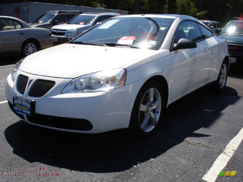 2006 pontiac g6 gtp coupe in ivory white photo 6 159948 all american automobiles buy. Black Bedroom Furniture Sets. Home Design Ideas