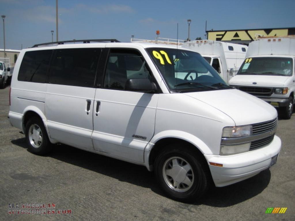 1997 Chevrolet Astro Passenger Van in Ghost White - 197491   All