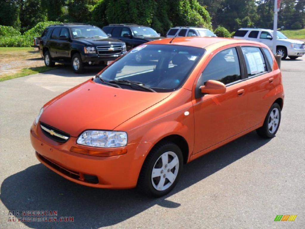 2006 chevrolet aveo ls hatchback in spicy orange photo 5 579557 all american automobiles. Black Bedroom Furniture Sets. Home Design Ideas