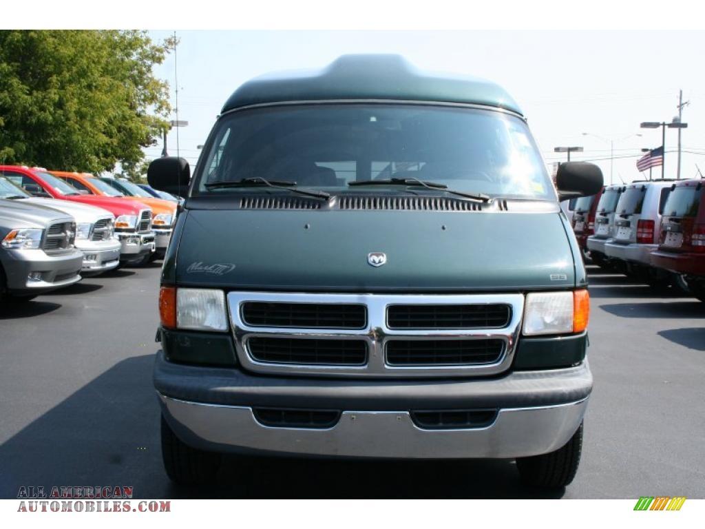 2000 Dodge Ram Van 1500 Passenger Conversion in Dark Spruce