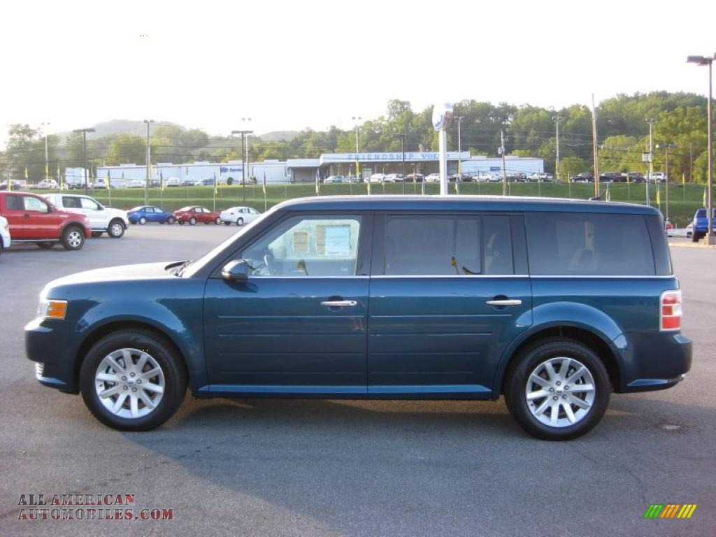 2011 ford flex sel in mediterranean blue metallic photo 8 d07491 all american automobiles. Black Bedroom Furniture Sets. Home Design Ideas