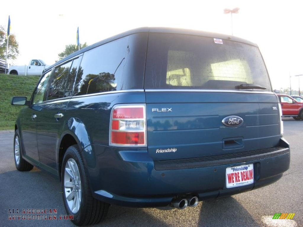 2011 ford flex sel in mediterranean blue metallic photo 8. Black Bedroom Furniture Sets. Home Design Ideas