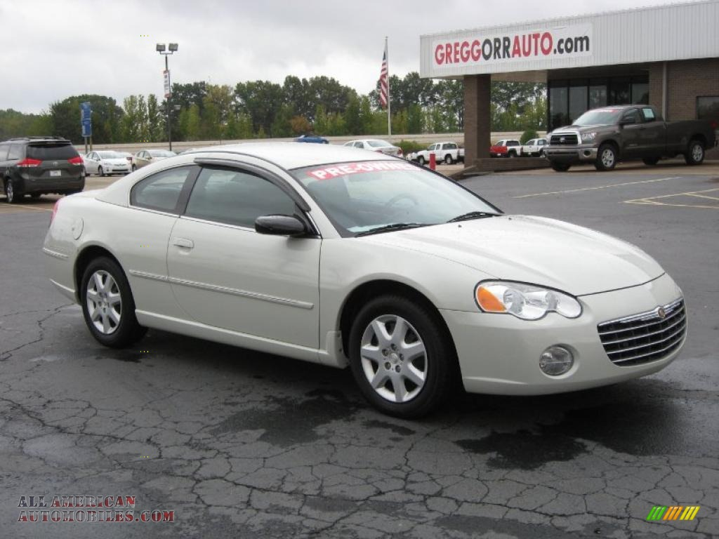 2004 chrysler sebring coupe in stone white 047010 all. Black Bedroom Furniture Sets. Home Design Ideas