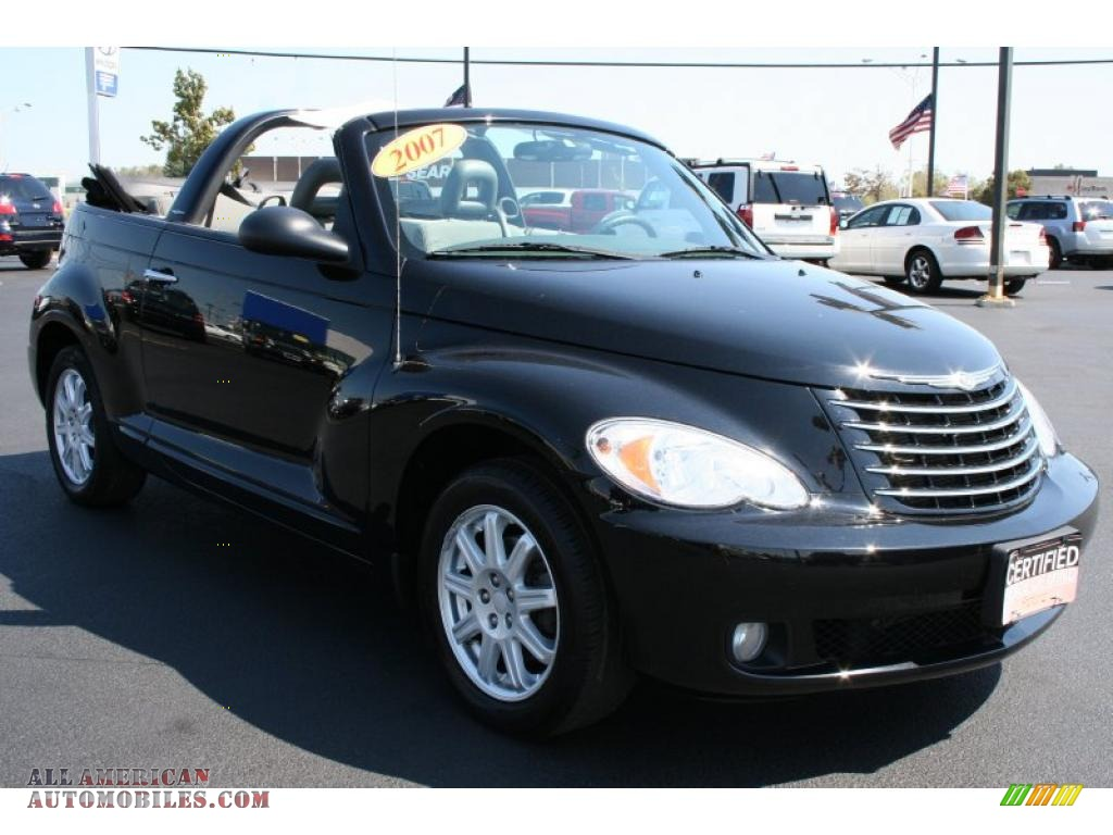 2007 chrysler pt cruiser convertible in black photo 6 585566 all american automobiles buy. Black Bedroom Furniture Sets. Home Design Ideas