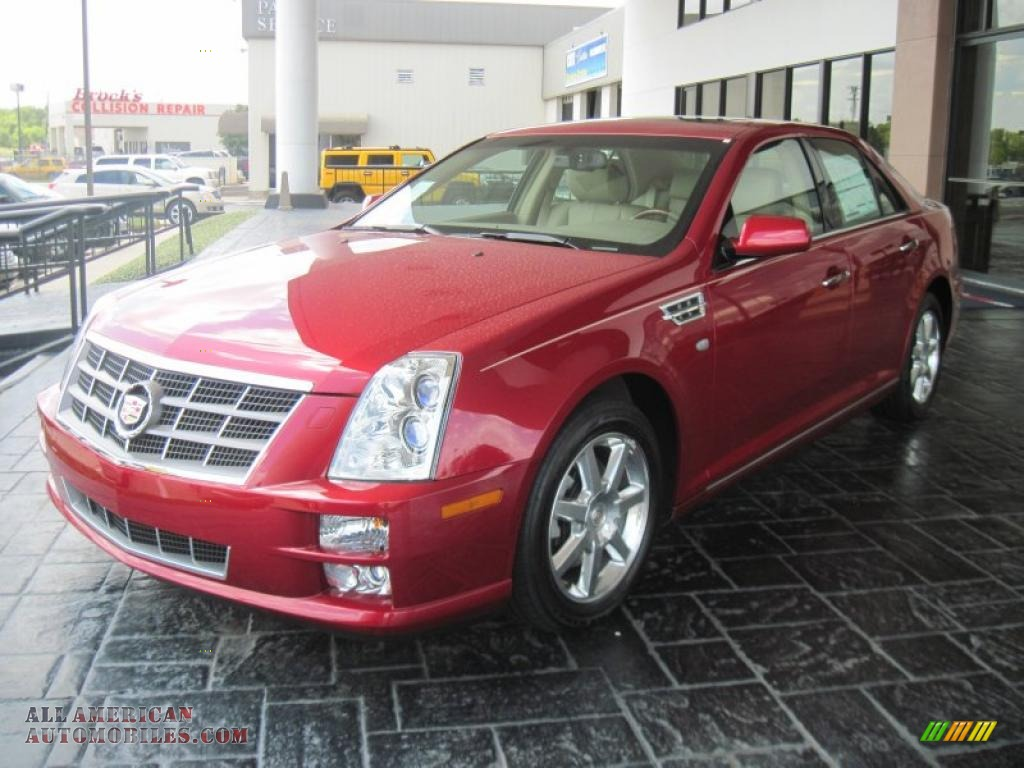 2011 cadillac sts v6 sport in crystal red tintcoat photo 3 112627 all american automobiles. Black Bedroom Furniture Sets. Home Design Ideas